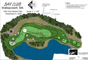 Proposed changes to Hole #10 at Bay Club